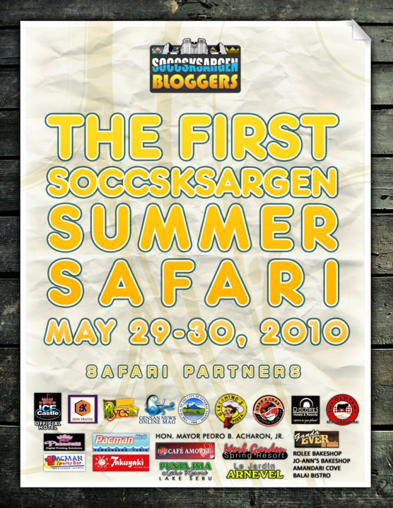 summer safari 2010 SOCCSKSARGEN Summer Safari Meetups   Day 1