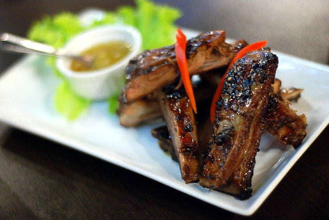 Grilled lamb ribs Savoring Bangkok Woks Latest Addition of Dishes